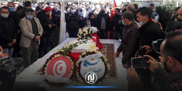 Un grand nombre de citoyens présents aux funérailles de Meherzia Laabidi