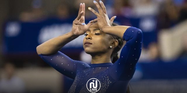 La gymnaste Nia Dennis réalise une performance enchanteresse!
