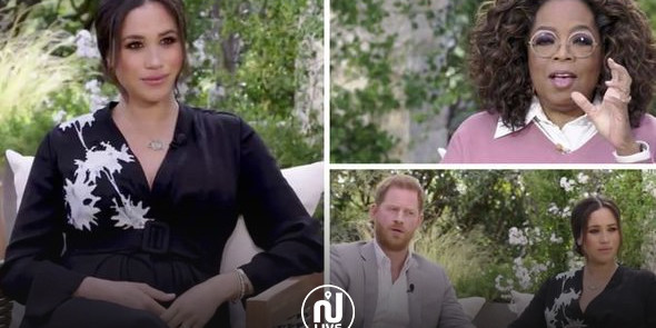 Un 1er teaser choc de l'interview du couple royal avec Oprah Winfrey