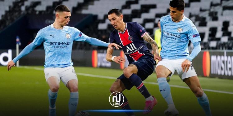 Manchester City bat le PSG (2-1) en demi-finale aller