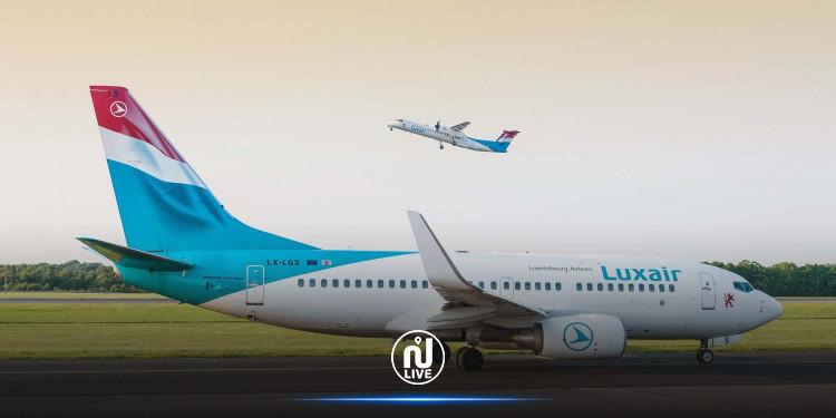 LUXAIR fait son 1er vol à l'aéroport Monastir-Habib Bourguiba
