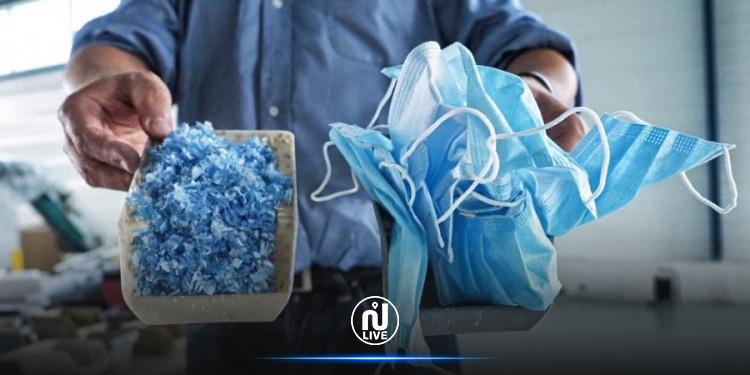 Covid : Une startup française recycle les masques