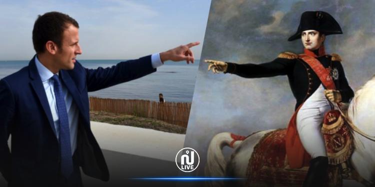 Macron commémore le 200e anniversaire de la mort de Napoléon