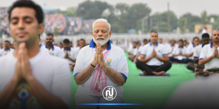 En Inde, le Yoga, une pratique politisée…
