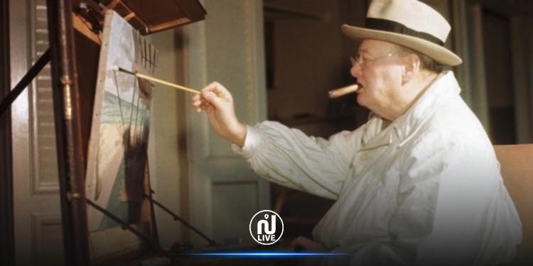 Un tableau de Churchill mis aux enchères à New York