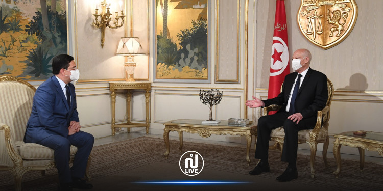 Said reçoit le ministre marocain des AE, envoyé spécial de Mohamed VI