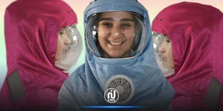 L'association Enfants de la Lune distribue aux élèves atteints de cette maladie des cagoules visières climatisées