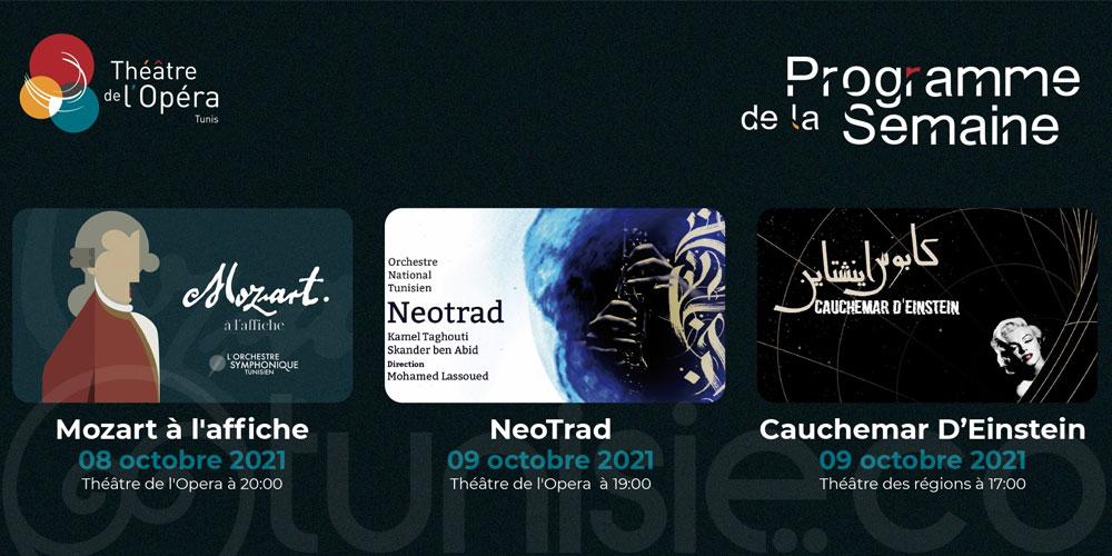 ''Mozart à l'affiche'' au théâtre de l'opéra de Tunis