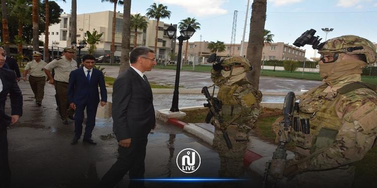 Le ministre de l'Intérieur se rend à Kairouan