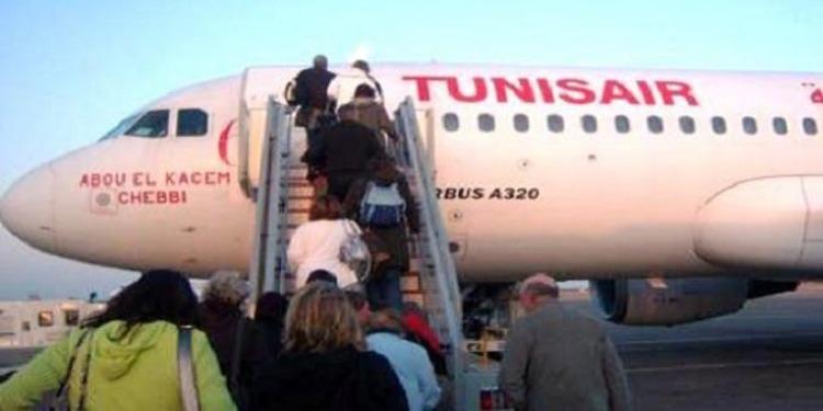 Tunisair : Le trafic passagers en hausse de 3.3 %, en janvier 2018