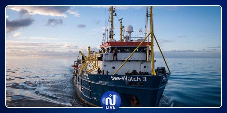 Italie: le navire Sea-Watch bloqué en Sicile …