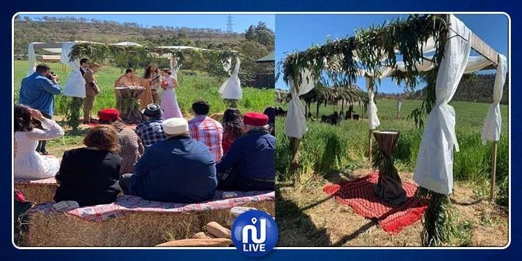 منوبة: زواج تونسي على الطريقة الأوروبية في قلب الطبيعة (صور)