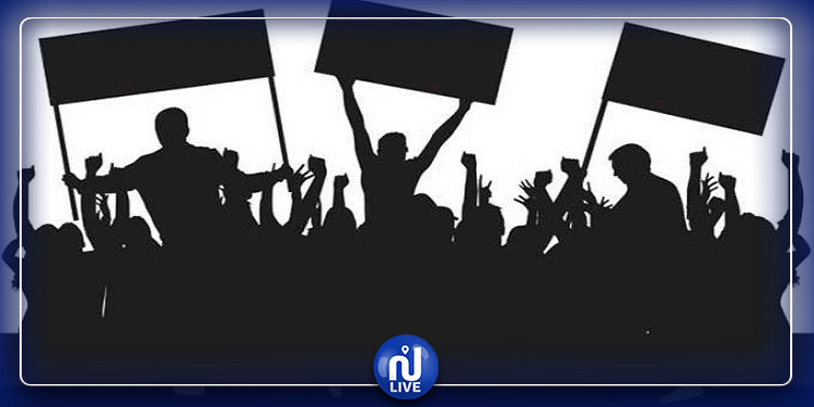 سليانة: 3 وقفات احتجاجية متزامنة أمام مقر الولاية