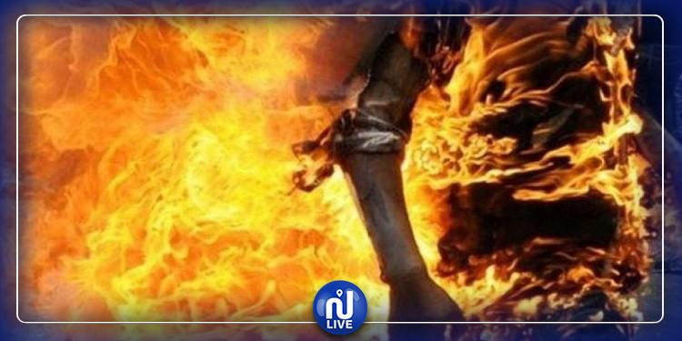 المتلوي: وفاة عجوز اضرمت النار في جسدها