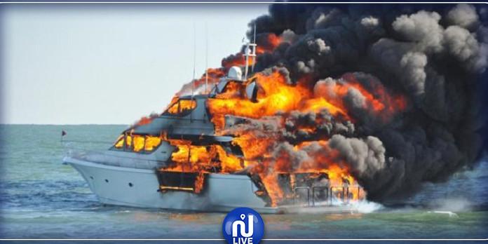بنزرت:  السيطرة على حريق اندلع في يخت اسباني