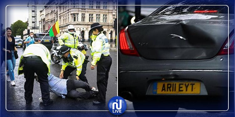 رئيس الوزراء البريطاني يتعرض لحادث مرور