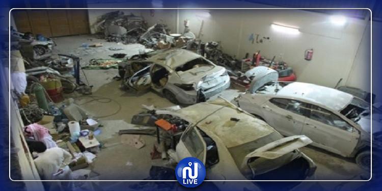سيدي بوزيد:  الإطاحة بشبكة مختصة في سرقة وتفكيك السيارات