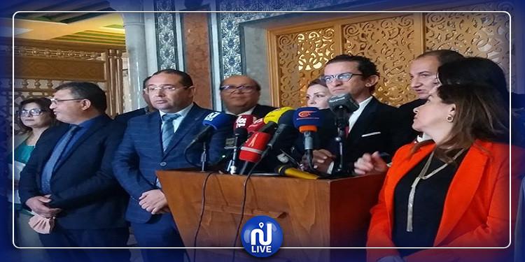قلب تونس يندد بالتهديدات التي طالت نوابه بعد رفضهم  التصويت على قرض مع المؤسسة الالمانية
