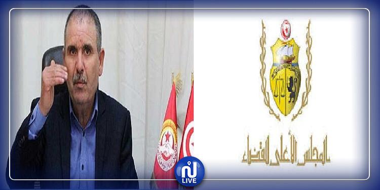 رئيس المجلس الأعلى للقضاء: نور الدين الطبوبي زيف الحقائق