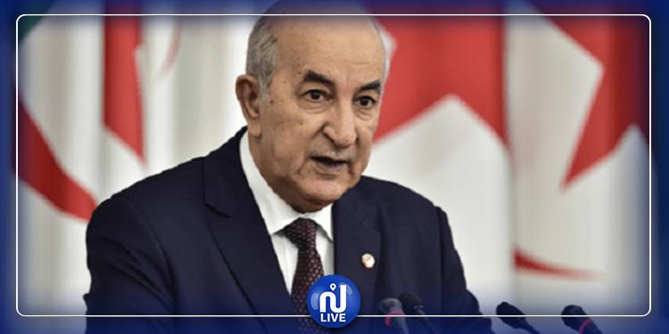 تبون: '' ليبيا تتجه للسيناريو السوري''
