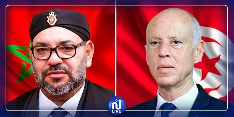 رئيس الجمهورية يهاتف العاهل المغربي