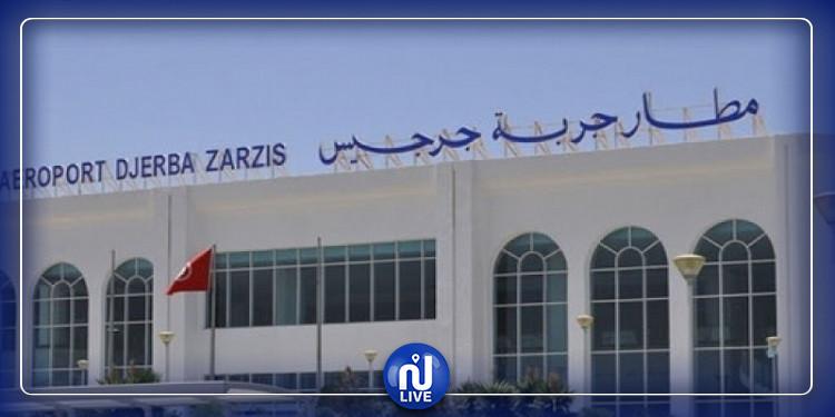 مدنين: استئناف الحركة الجوية بمطار جربة جرجيس