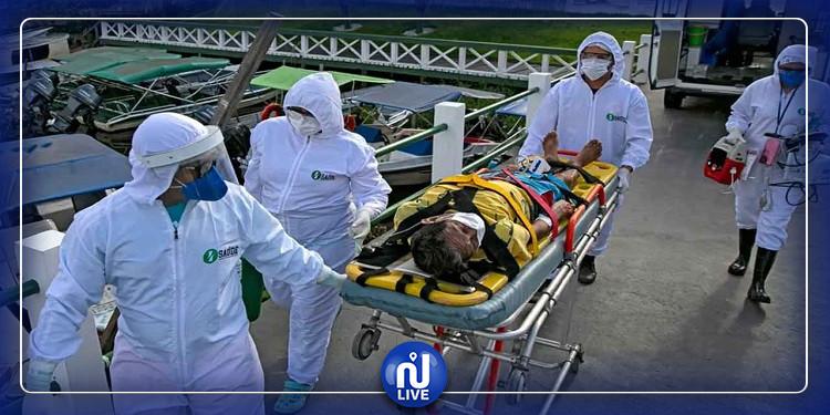 البرازيل تتجاوز حاجز النصف مليون إصابة بفيروس كورونا