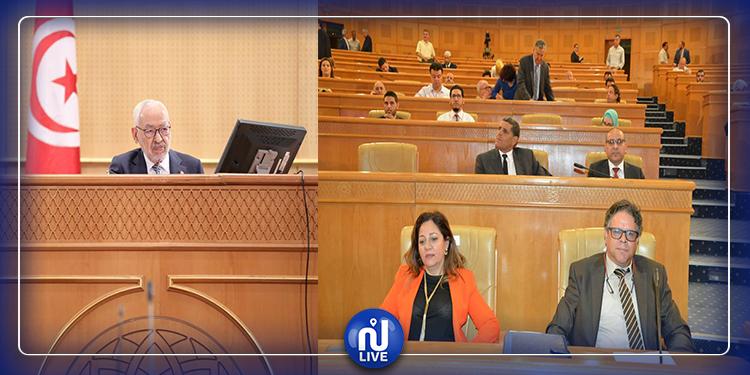 فوضى في البرلمان والغنوشي يرفع الجلسة