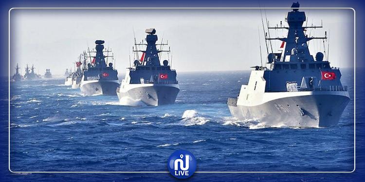 تركيا تعلن مناورات عسكرية ضخمة في سواحل ليبيا
