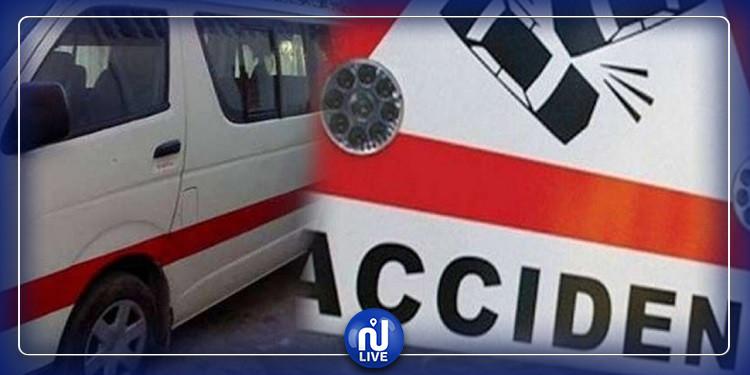 الحمّامات : من بيِْنهمْ رضيع حالتُه حرجة.. 9 مُصابين في حادثْ اصطدام ''لواج'' بشاحنة