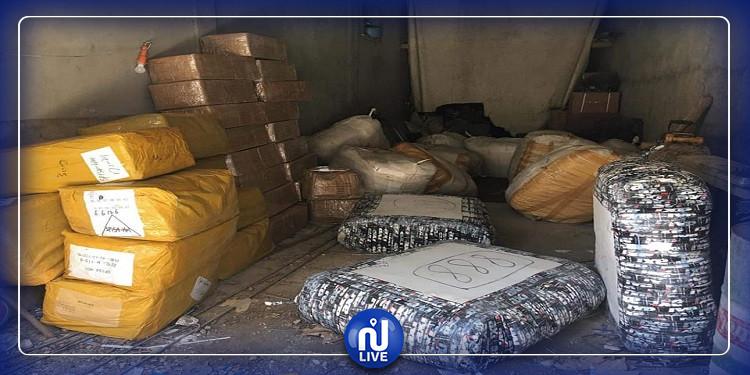 بن عروس: حجز بضائع مقلدة  بقيمة 300 ألف دينار
