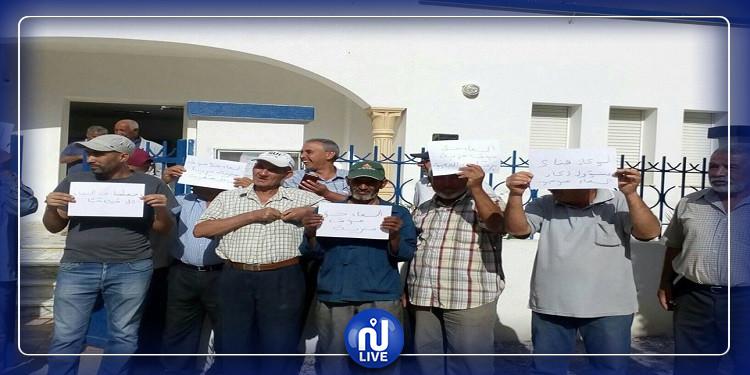 جندوبة: احتجاجات ببلطة بوعوان بسبب الانقطاعات المتواترة لمياه الشرب