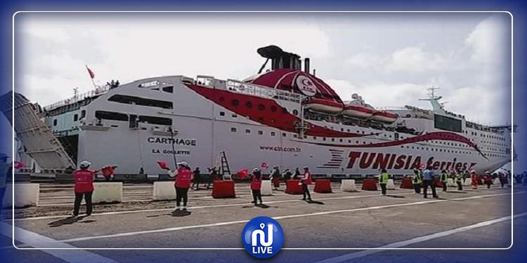 اليوم: وصول 1670 مسافرا الى ميناء جرجيس قادمين من مارسيليا