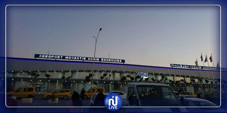 مطار المنستير يستقبل أول رحلة على متنها تونسيون وعدد قليل من السياح
