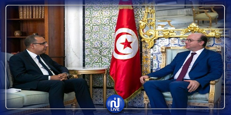 الفخفاخ يلتقي رئيس الحكومة المكلف هشام المشّيشي