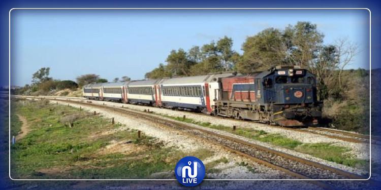 توقف حركة سير القطارات بين تونس وبنزرت