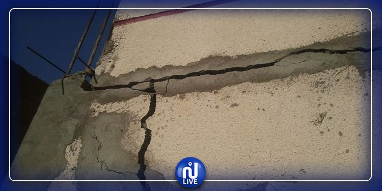 صيحة فزع: تصدّع عدد  من البناءات في جربة آجيم وبعض الأهالي يغادرون منازلهم