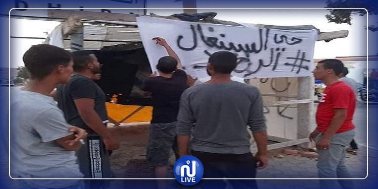 شباب الكامور يتوجهون للإعتصام بمحيط محطة الضخ
