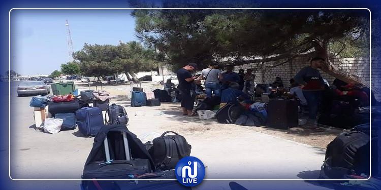 إجلاء 250 مواطنا تونسيا من ليبيا