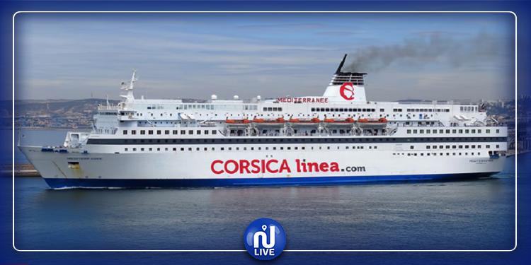 أصيب 8 من طاقمها بكورونا: االسماح لسفينة Méditerranée بالرسوّ في ميناء حلق الوادي