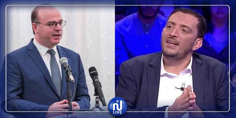 ياسين العياري للفخفاخ: لو نحن في شبه دولة، يجب أن تكون الآن رهن الإيقاف التحفظي