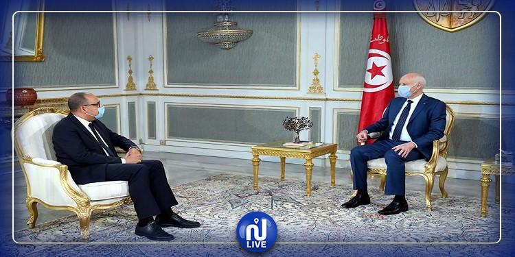 المشّيشي يطلع رئيس الجمهورية على آخر تطوّرات تشكيل الحكومة (فيديو)
