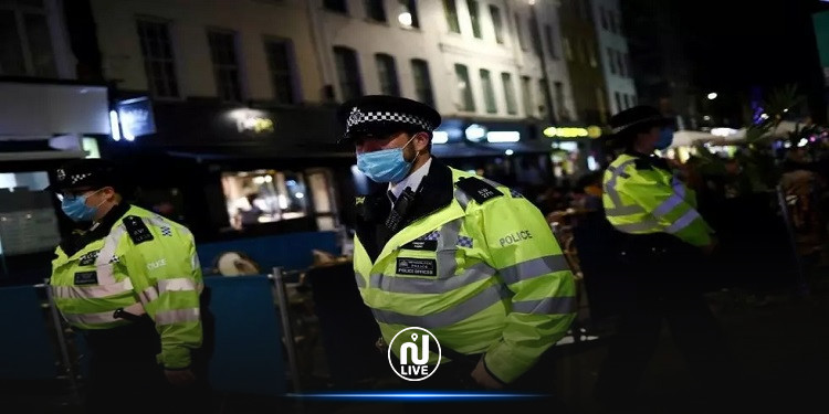 لندن: اعتقال 10 أشخاص في احتجاج على إجراءات العزل العام