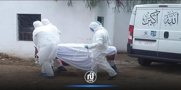 المنستير: دفن أوّل متوفى بالكورونا في مدينة بنّان ووفاة شيخ في طبلبة