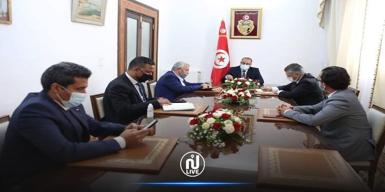 رئيس الحكومة يستقبل ممثلي حركة النهضة وقلب تونس وائتلاف الكرامة