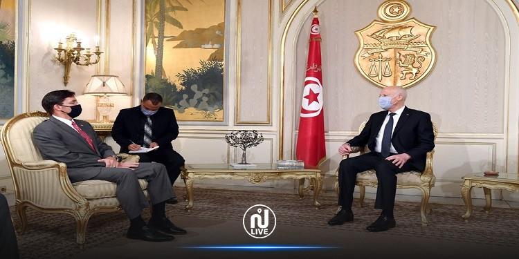 وزير الدفاع الأمريكي يؤكد أن بلاده تتقاسم نفس الرؤية مع تونس في مقاومة الإرهاب  (فيديو)