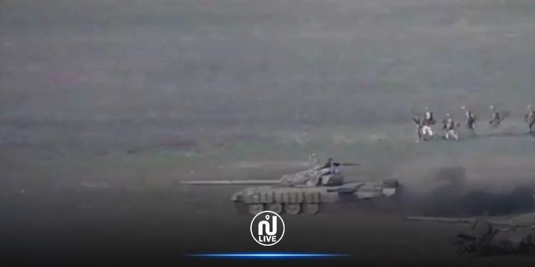 اندلاع الحرب بين أرمينيا وأذربيدجان ومقتل 16 جنديا