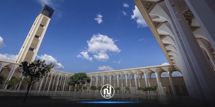الجزائرتفتتح ثالث أكبر مسجد في العالم (فيديو)
