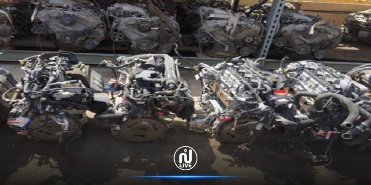 صفاقس: حجز 23 محرّك سيّارات مجهولة المصدر