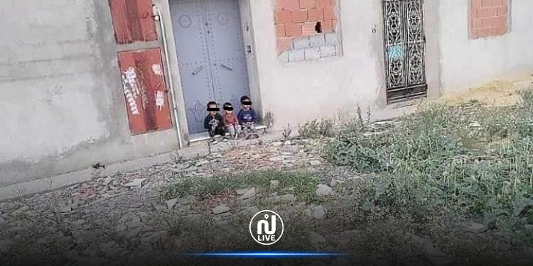 نابل: أمّ تترك أبناءها في الشارع بينهم رضيع